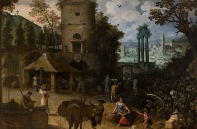 Sebastian Vrancx (Anversa 1573 –1647), Autunno