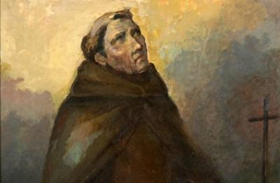 Ilario Ciaurro, (Napoli 1889- Terni 1992), Padre Barnaba Manassei, 1960