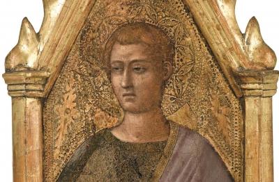 Taddeo Gaddi (cerchia)(Firenze fine del Duecento, primi anni del secolo successivo - 1366) San Giovanni Evangelista