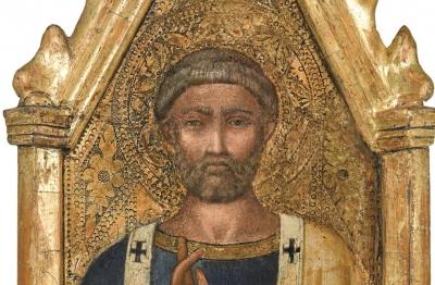 Taddeo Gaddi (cerchia)(Firenze fine del Duecento, primi anni del secolo successivo - 1366) San Pietro