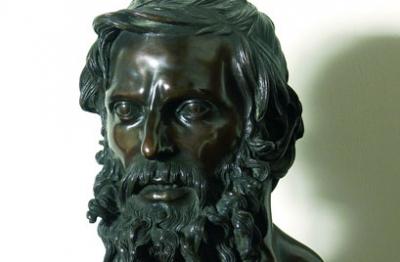 Vincenzo Gemito, (Napoli 1852-1929), Aristotele