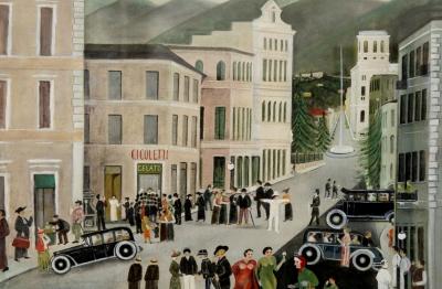 Orneore Metelli (Terni 1872-1938) Terni, Corso C. Tacito
