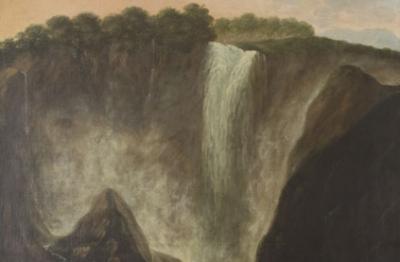 Pittore attivo nell'ultimo quarto del XVII secolo, Cascata delle Marmore