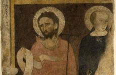 Pittore attivo tra il XIV e il XV sec, S.Giovanni Battista e S.Pietro martire