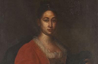 Pittore attivo alla metà del XVII secolo, Ritratto femminile