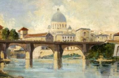 Pittore attivo nella metà del XX secolo