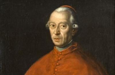 Pittore umbro laziale degli inizi del XIX secolo, Ritratto del cardinale Luigi Gazzoli