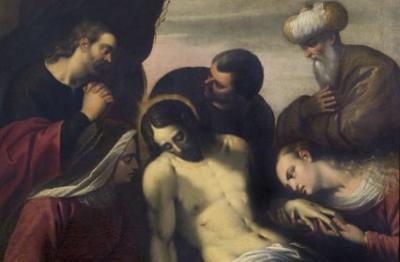 Girolamo Siciolante da Sermoneta (attr.), (Sermoneta 1521-1580 c.), Pietà