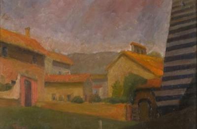 Palmiro Teofoli, (Terni 1906-Roma 1968), Casa dei canonici, Orvieto, 1935 c.