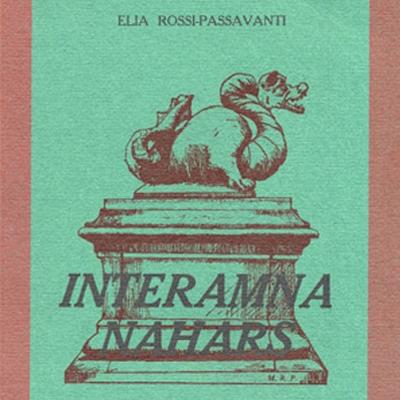 Elia Rossi Passavanti, <i>Storia di Terni</i>