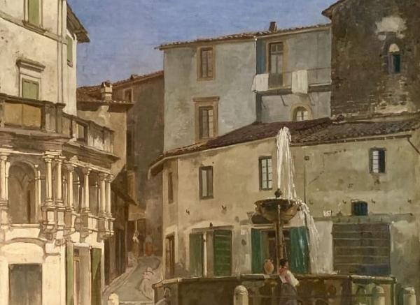 La Fondazione consegna al Comune di Narni un dipinto di Jacques Carabain