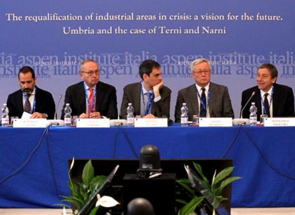 La riqualificazione delle aree di crisi industriale complessa: una visione per il futuro. L'Umbria e il caso di Terni e Narni