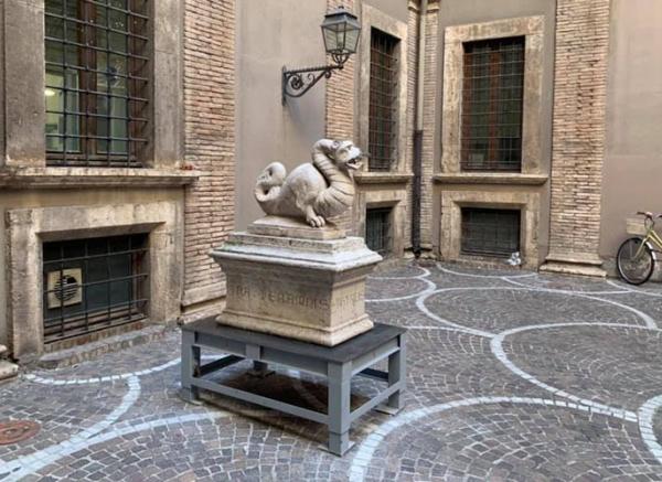 La Fondazione ha finanziato il restauro del Thyrus, simbolo della città di Terni